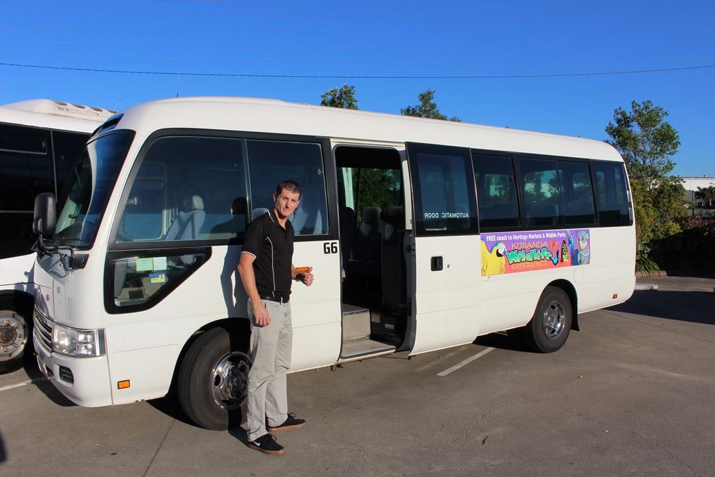 Visit Kuranda - Bus Up / Bus Back