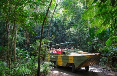 Visit Kuranda Optional Extra - Rainforest Station (including Army Duck and Zoo)