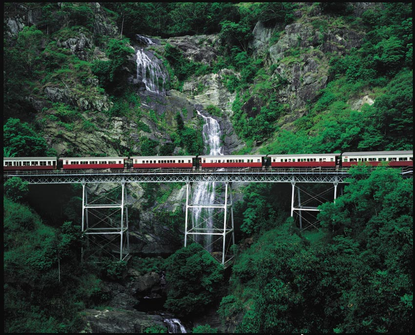 Visit Kuranda - Train Up / Bus Back
