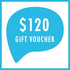$120 GIFT VOUCHER | can be used towards any tour