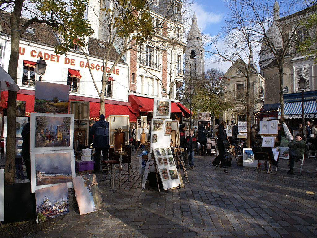 Paris Montmartre Walking Tour