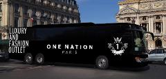 Shuttle  Paris Arc of Triump to  One Nation Paris Outlet