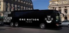 Shuttle Versailles PALACE to  One Nation Paris Outlet