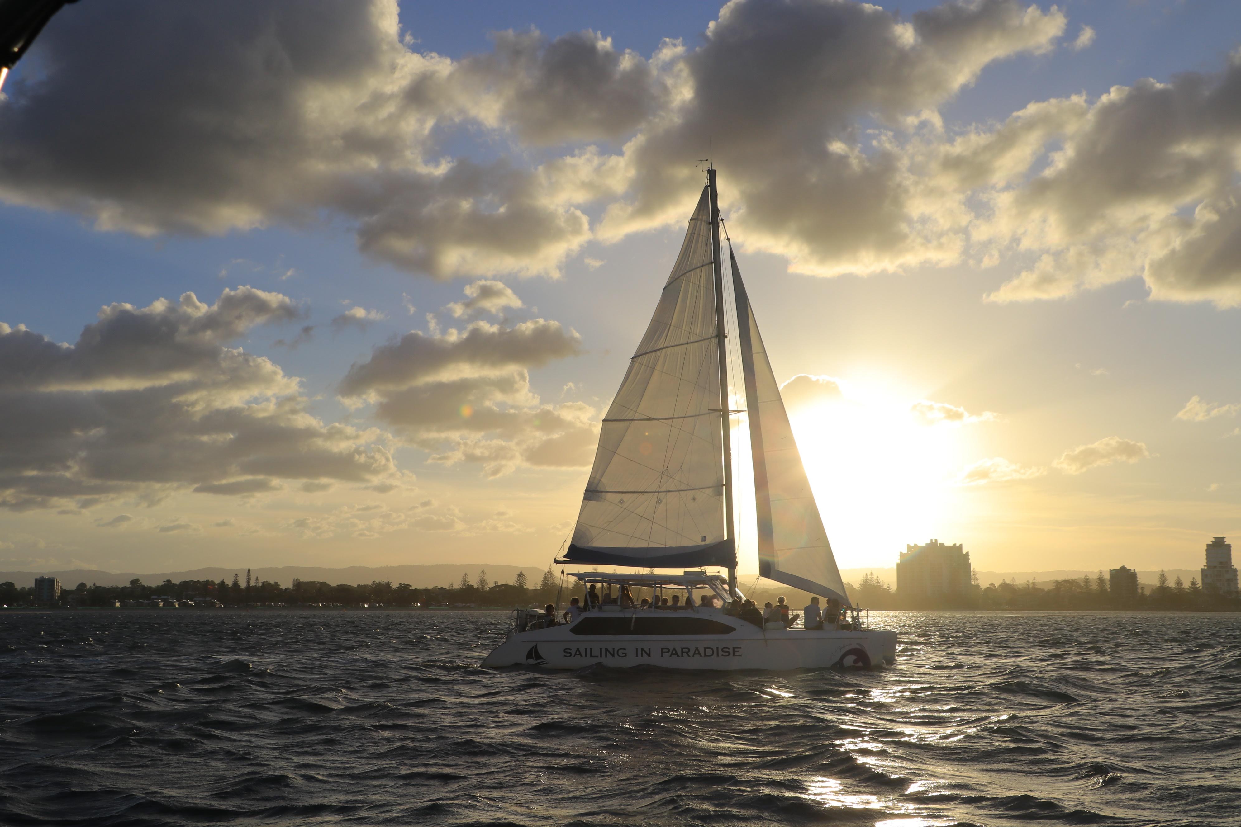 Gold Coast Sunset & City Lights Cruise - 2 hours