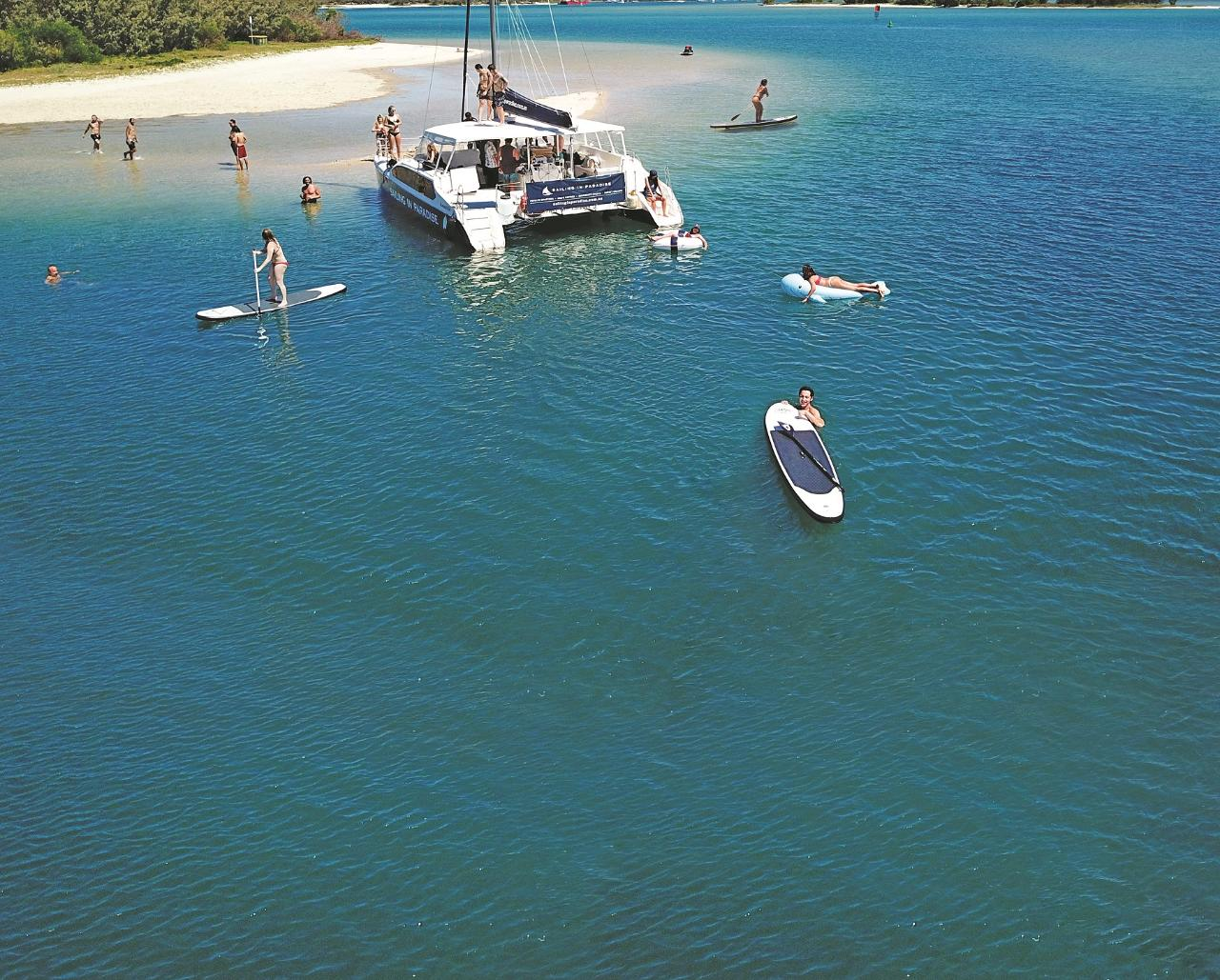 Gold Coast 3 hour Island Adventure Cruise