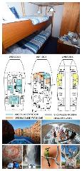 Single Bunk Cabin on the Lower Deck - Twin Share - Kimberley 13 Night Adventure Tour - Wyndham to Broome