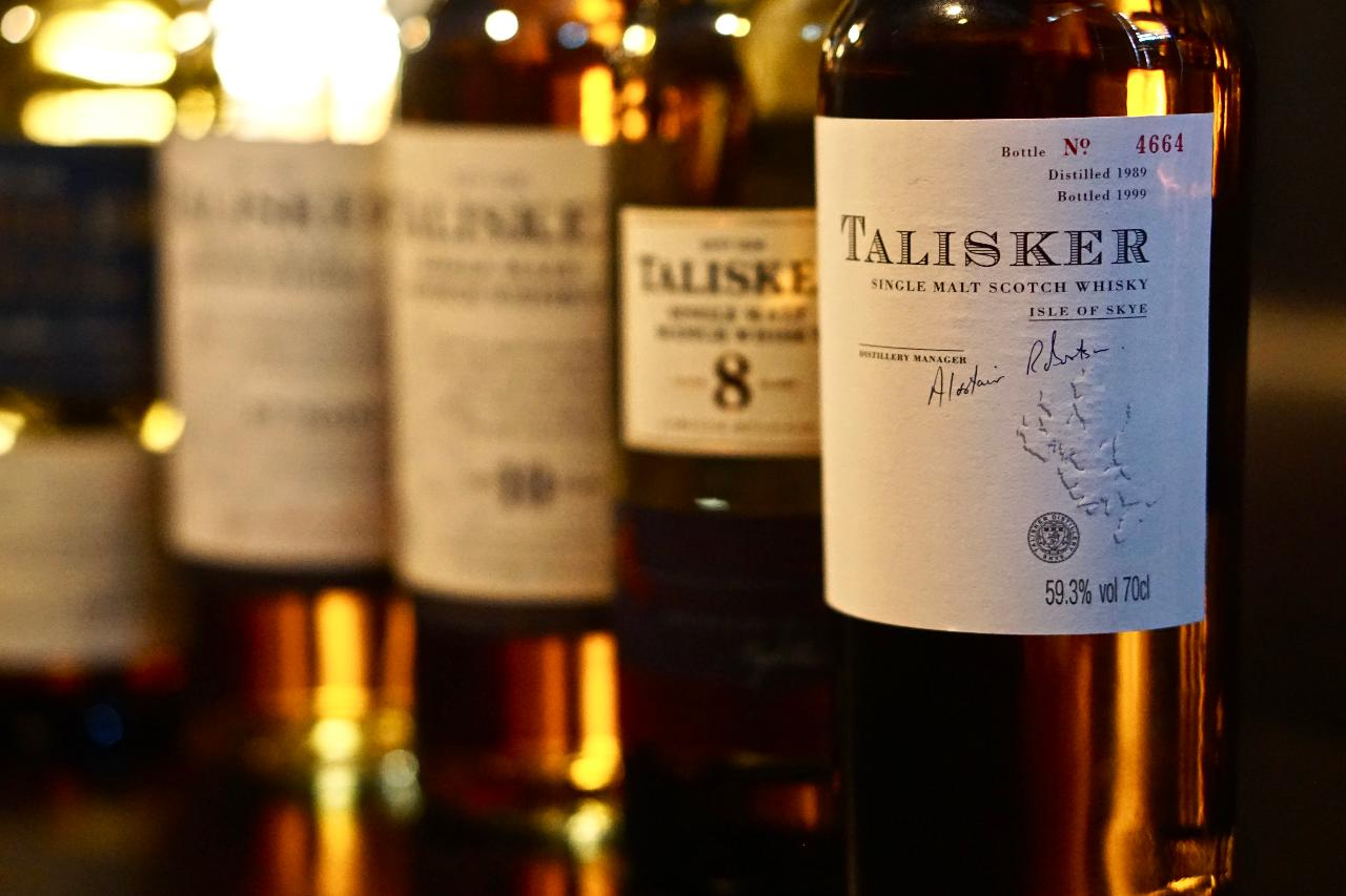 A Taste of the Sea with Talisker Single Malt Whisky