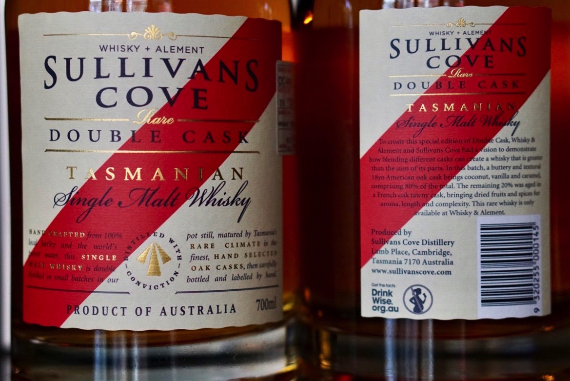 Unveiling Whisky & Alement's very own bottling of Sullivans Cove Double Cask!