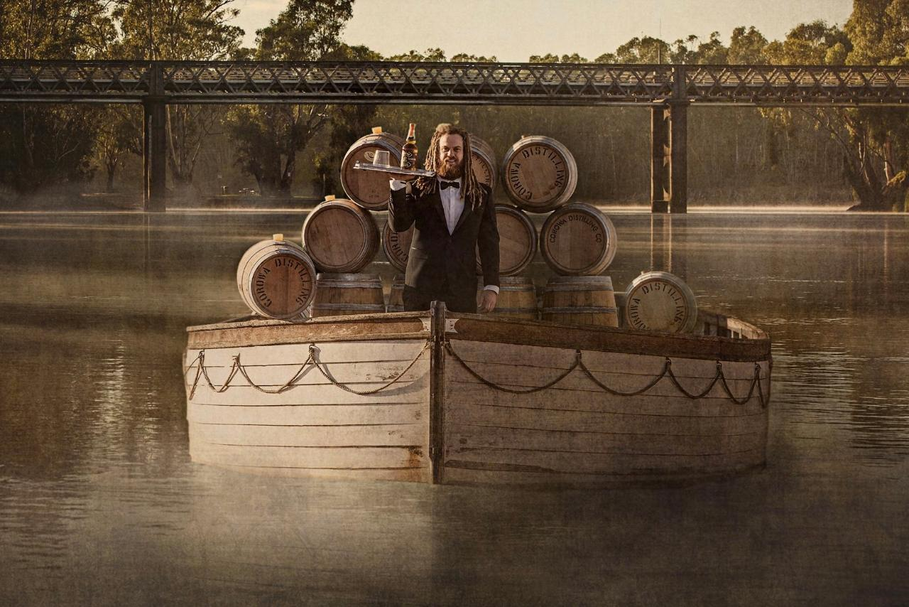 Corowa Whisky tasting with the 'Dreaded Distiller'