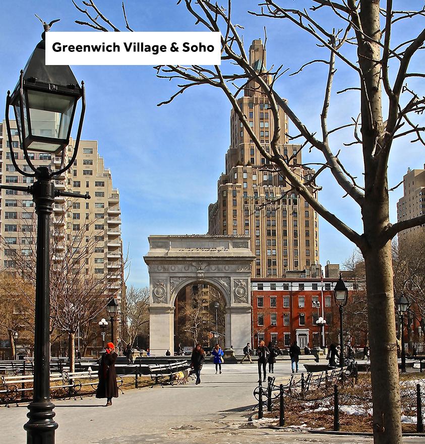 2H - A la découverte de Greenwich Village et Soho