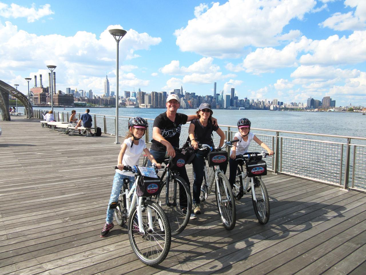3H30 - A la découverte en vélo du Williamsburg bridge au Brooklyn bridge