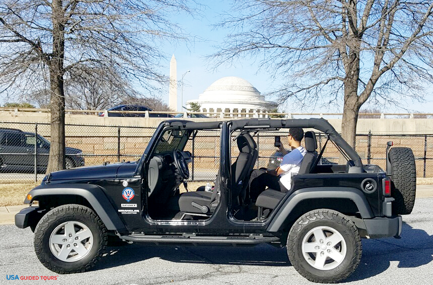 WASHINGTON, DC JEEP TOUR