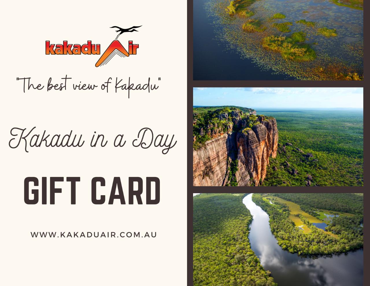 Kakadu in a Day Gift Card