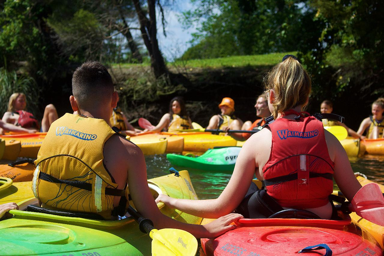 Hourly Kayak Rental at Waimarino Adventure Park