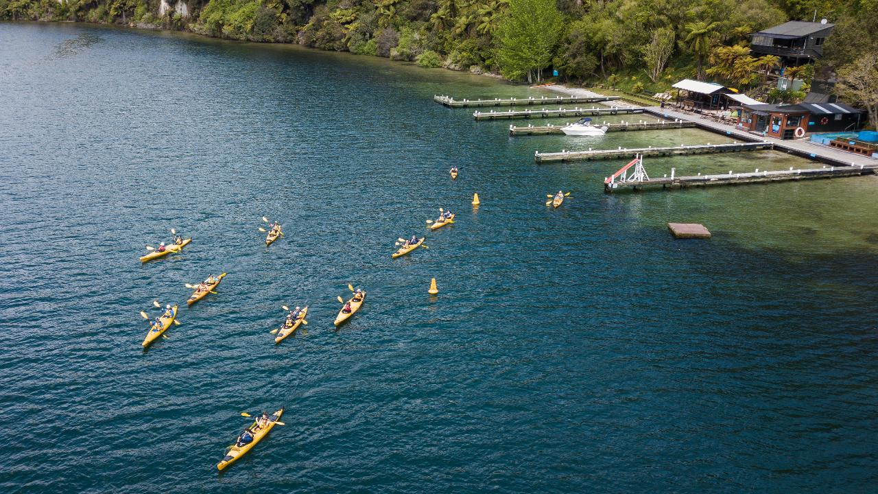 Scenic Lake Rotoiti Kayak Tour - Rotorua