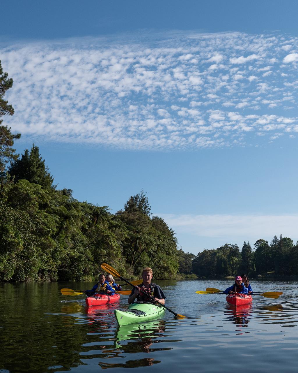 SHORE EXCURSION: Scenic Lake McLaren Kayak Tour