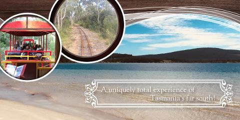 Ida Bay Railway History Tour Tasmania Australia
