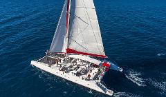 Catamaran Day Time Cruise from Athinios port