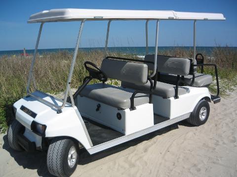 AMI Street Legal 6 Passenger Golf Cart