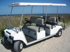 AMI Street Legal 6 Passenger Golf Cart
