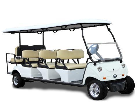 AMI Street Legal 8 Passenger Golf Cart - Hourly