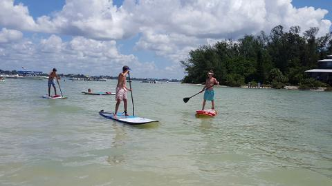 The Living Sandbar Paddle Adventure