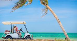 AMI Street Legal 4 Passenger Golf Cart Rental - Hourly