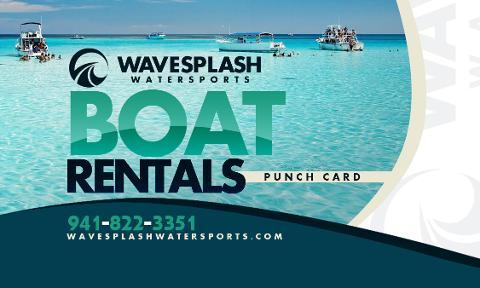 Discount Card - 5 Half-Day Boat Rentals