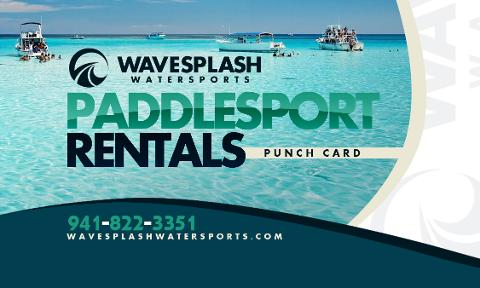 Discount Card - 10 One Hour Paddlesport Rentals