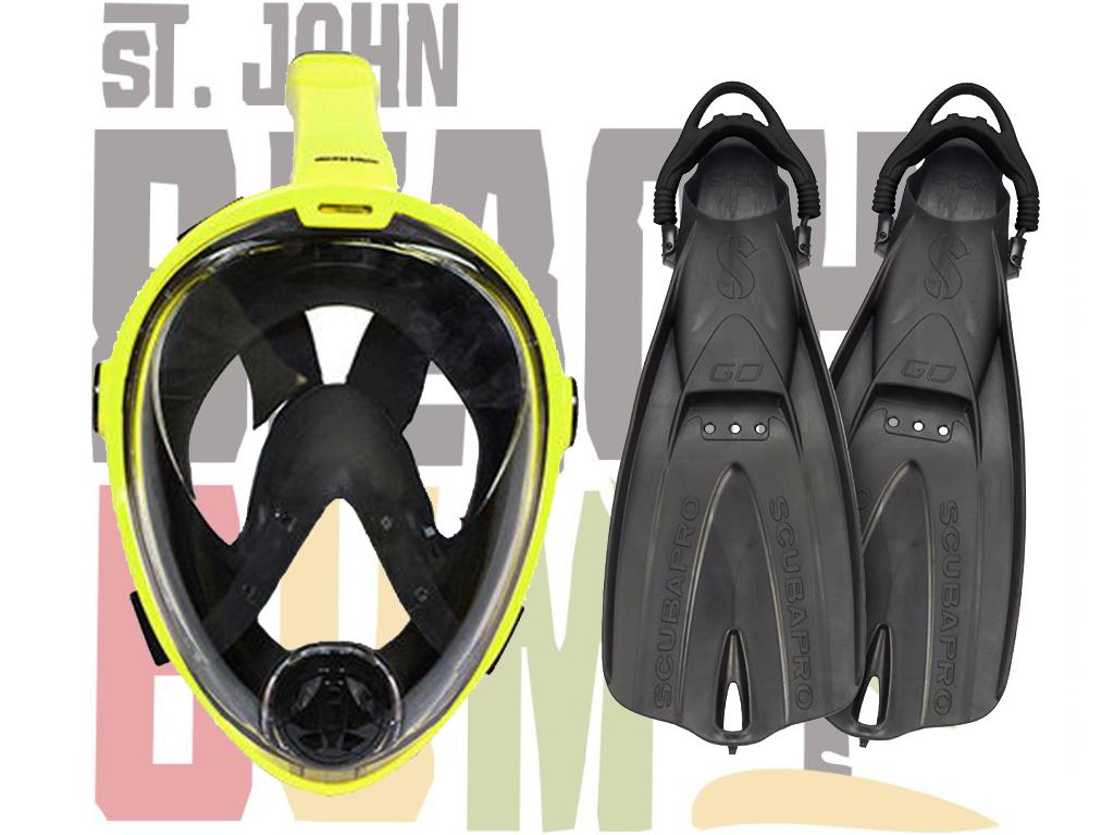 Full Face Snorkel Set