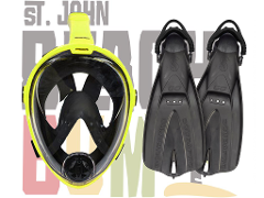 Full Face Snorkel Set