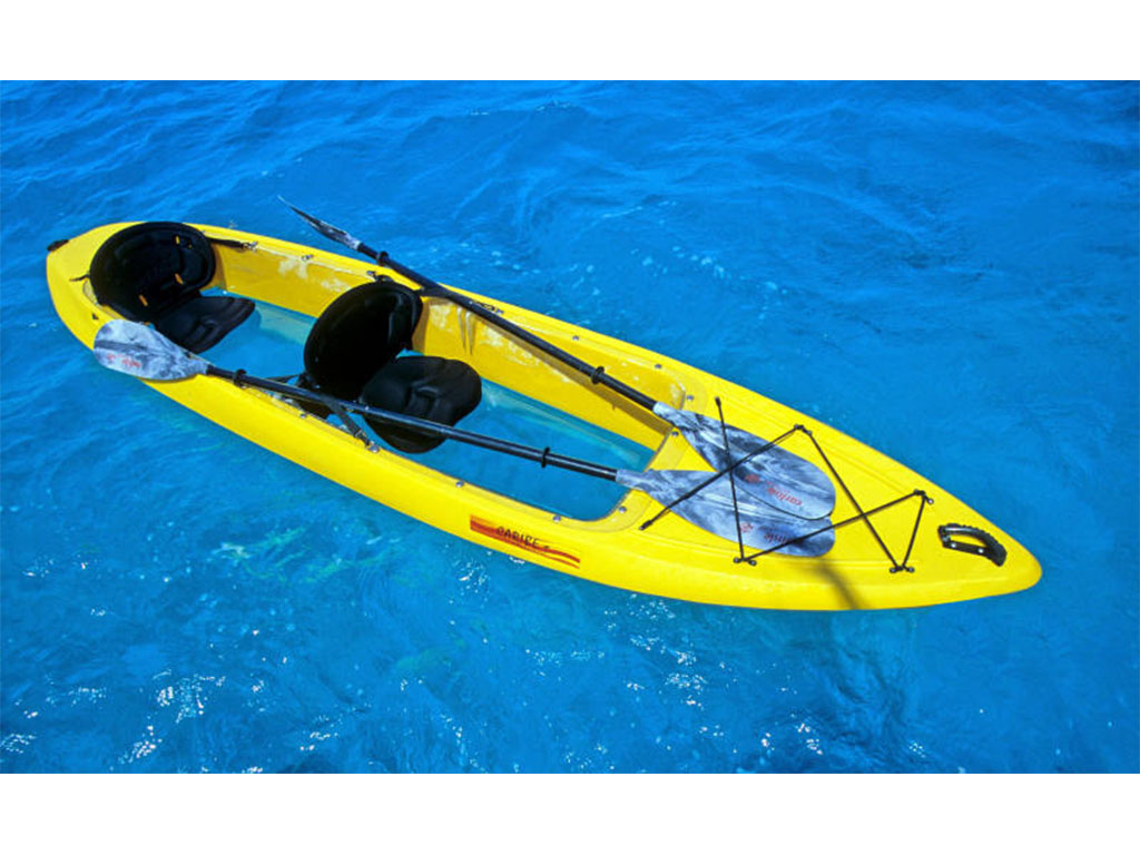 2-Person Clear-Bottom Kayak
