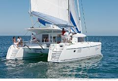 Catamaran Bareboat Chartering Preparation