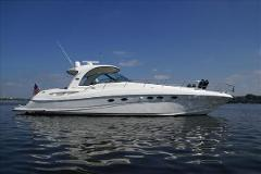 Power: SeaRay 500 - Half-Day Charter Up To 12 People