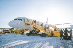 Transfer: Abisko/Björkliden - Kiruna