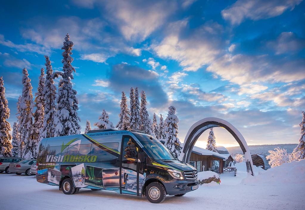 Transfer: ICEHOTEL - Abisko/Björkliden (Dec - March)
