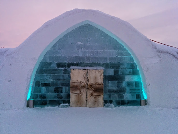 Explore the ICEHOTEL (Dec-March)
