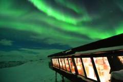 Exclusive Dinner Aurora Sky Station return transfer