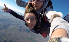 WINTER SPECIAL Tandem skydive from up to 15000'