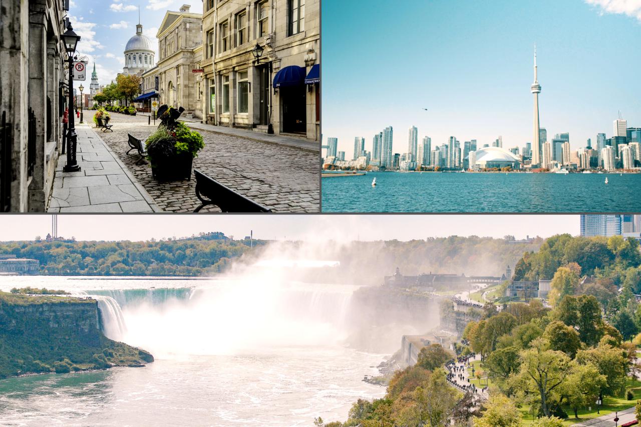 5 Day Small Group - Niagara Falls, Toronto and Montreal Highlights (Buffalo to Montreal)