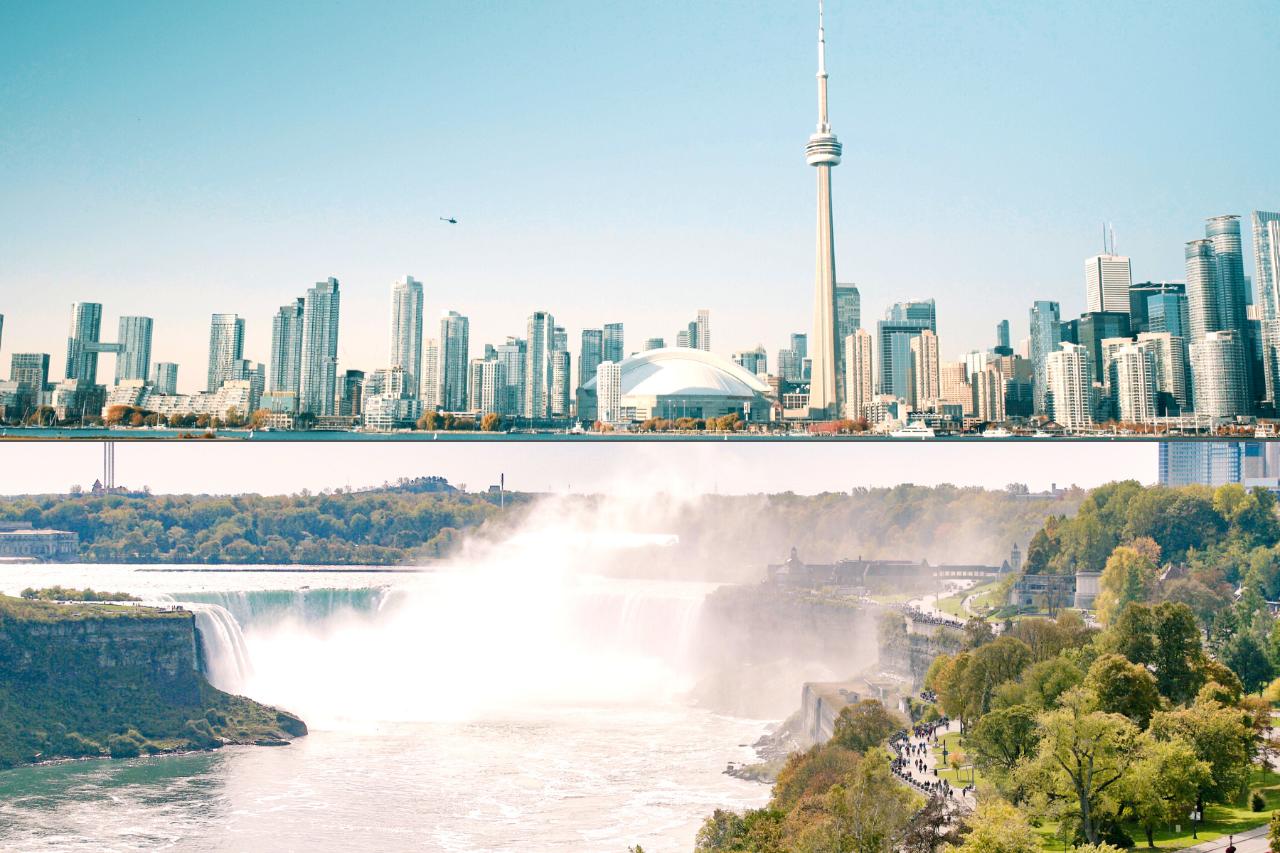 3 Day Small Group - Highlights of Niagara Falls and Toronto (Toronto to Buffalo)