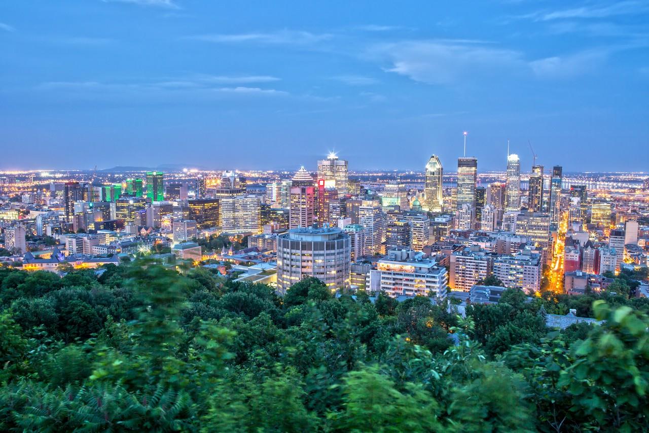 Scenic Montreal Night Tour