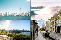 6 Day Small Group - Niagara Falls, Toronto, Ottawa and Montreal Highlights (Toronto to Montreal)