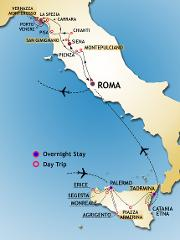 Sicily, Tuscany and Cinque Terre