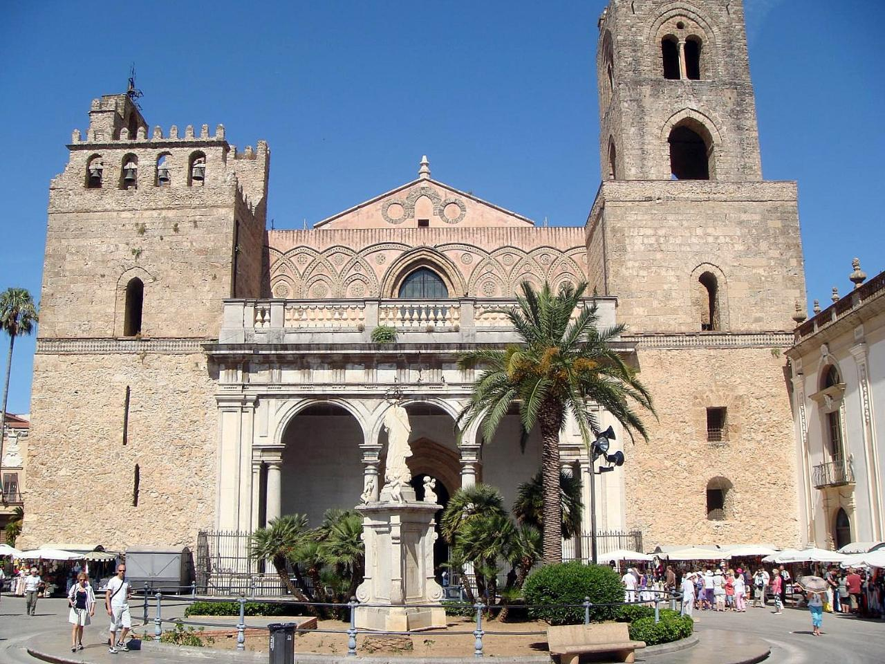 Half Day Tour to Monreale & Palermo from Palermo Port
