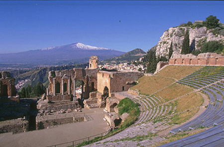 Full Day Tour to Etna, Winery & Taormina from Catania Port