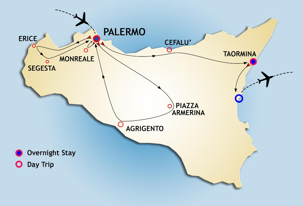 Golden Sicily Tour - from November 2018