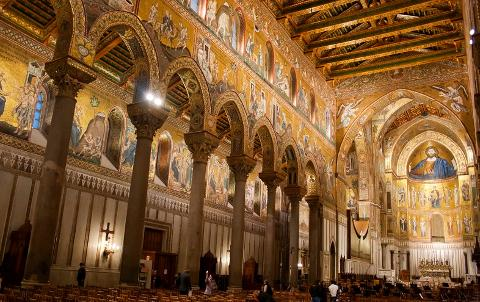 Full Day Tour to Monreale & Palermo from Palermo Port