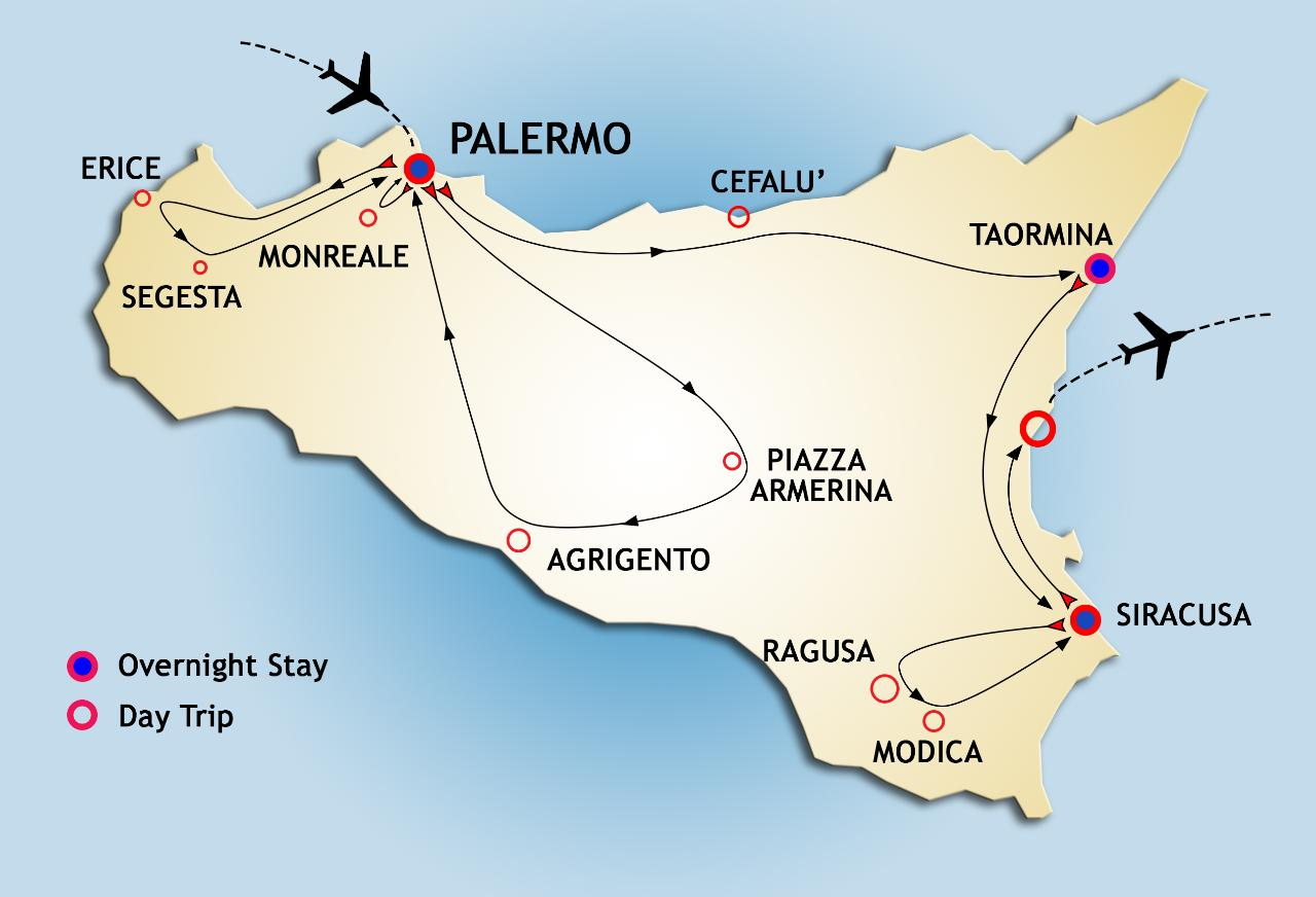 Step by Step  - starts on SATURDAY from PALERMO - from November 2018