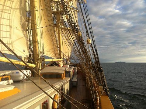 Långsegling Karlskrona - Kalmar 16-17 augusti